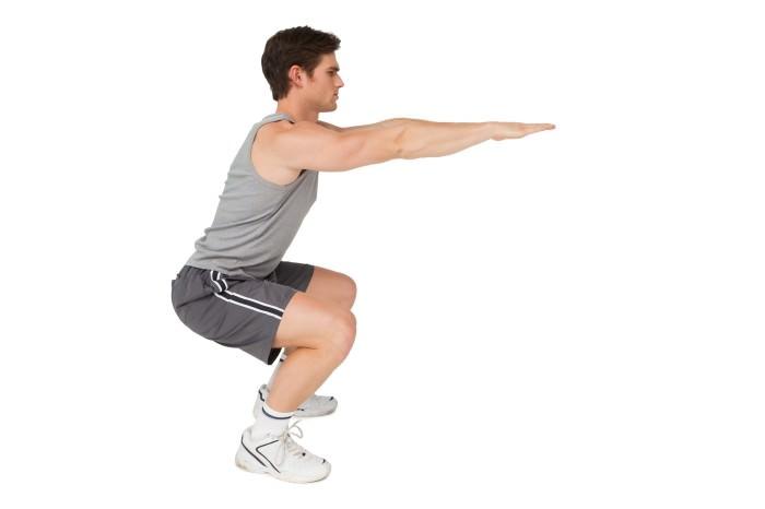 bài tập cơ chân chữa yếu sinh lý