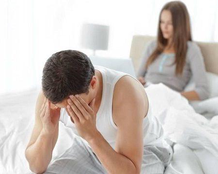 Xuất tinh sớm là biểu hiện yếu sinh lý ở nam giới
