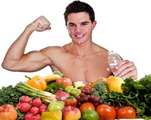 Tập thể hình nên kết hợp với chế độ ăn uống khoa học
