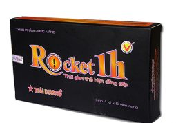 Rocket 1h là thực phẩm chức năng, không thể thay thế thuốc chữa bệnh