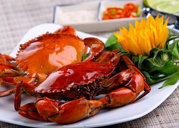 Cua biển loại hải sản tăng cường sinh lý nam giới
