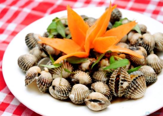 Sò huyết loại hải sản tăng cường sinh lý nam giới