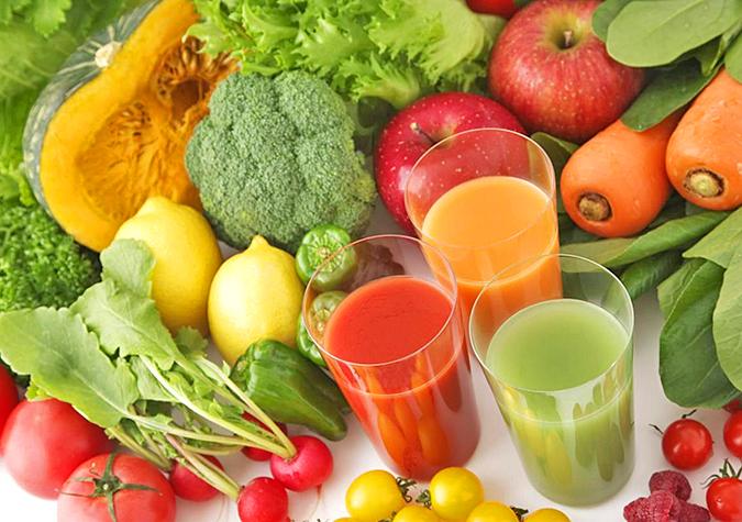 Bị thận yếu nên ăn gì? Nên uống nước ép rau quả