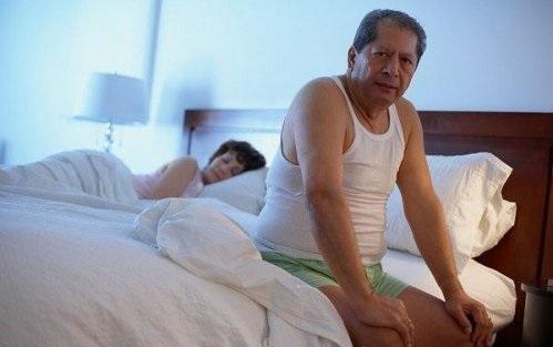 Nguyên nhân gây rối loạn cương dương có thể do yếu tố tuổi tác