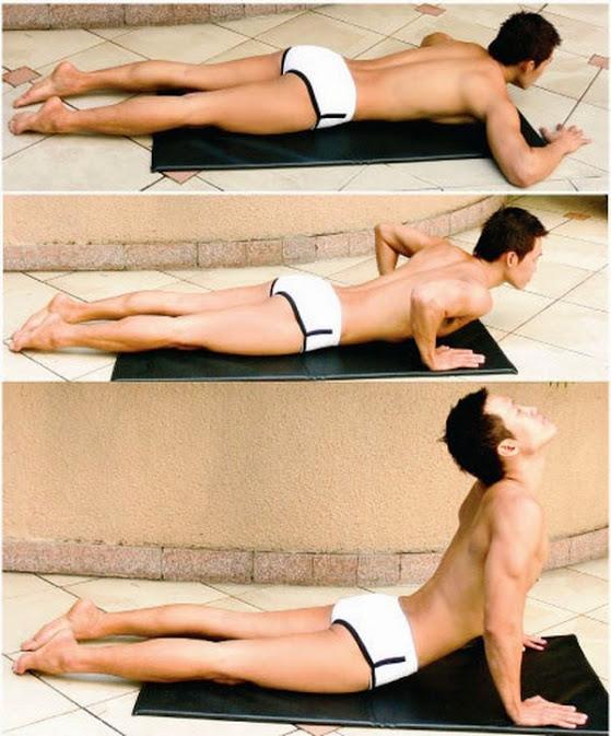 Tư thế rắn hổ mang - bài tập Yoga tăng cường sinh lý