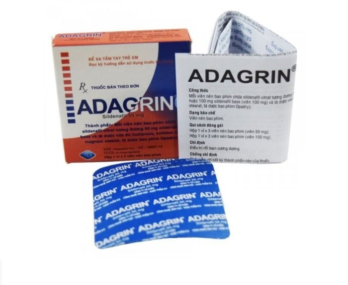 thuốc Adagrin - thuoc adagrin 50mg - thuốc cường dương adagrin