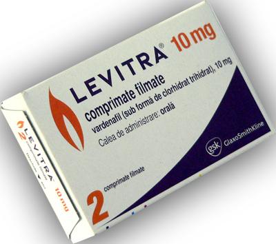Thuốc Levitra 10mg điều trị bệnh yếu sinh lý nam