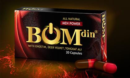 Thực phẩm chức năng tăng cường sinh lý nam BOMDIN