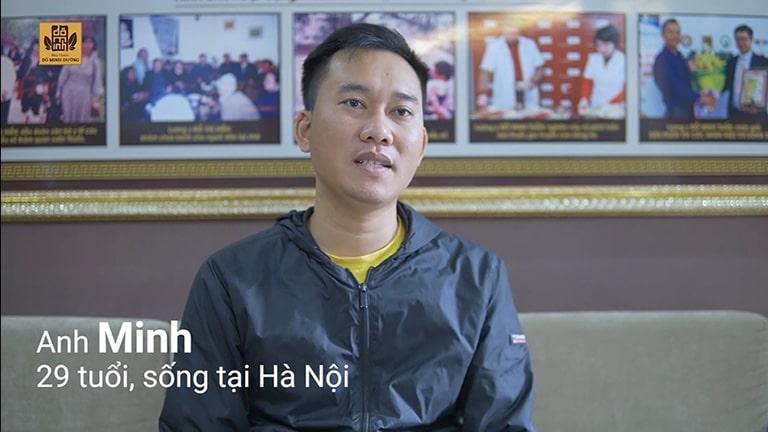 Anh Minh chia sẻ hiệu quả của bài thuốc Sinh lý nam Đỗ Minh