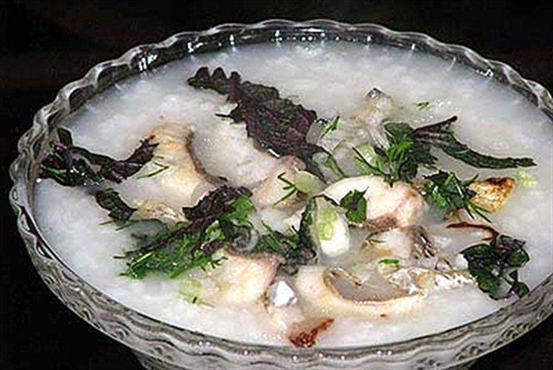 Cháo cá chạch bồi bổ sức khỏe và tăng cường tình dục