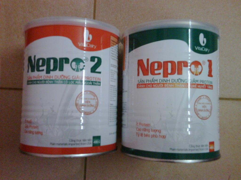 Sữa Nepro 1,2 cho người suy thận bán ở đâu?