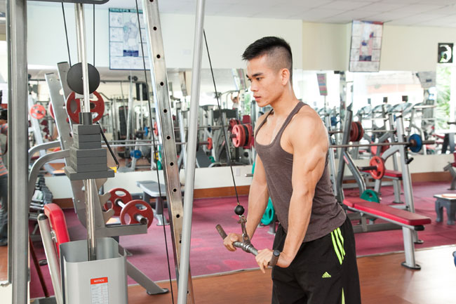 Tập luyện có thể giúp kích thích sản xuất nội tiết tố nam testosterone