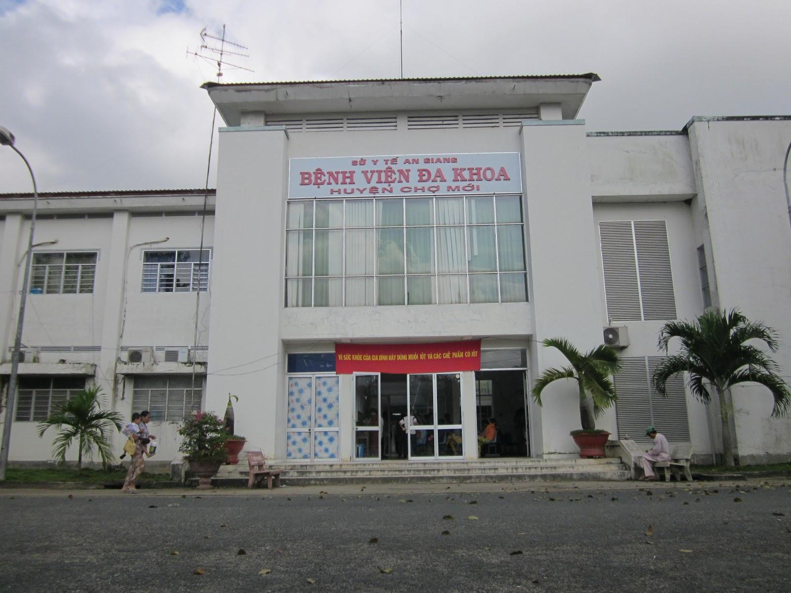 Bệnh viện đa khoa huyện Chợ Mới