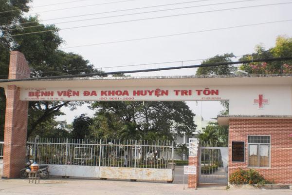 Bệnh viện Đa khoa Huyện Tri Tôn