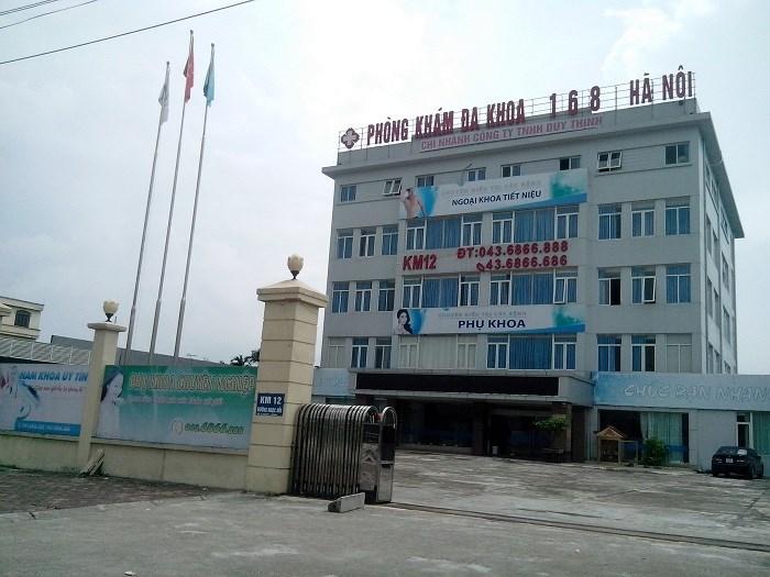 Phòng khám Đa khoa 168 Hà Nội