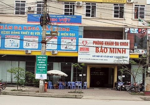 Danh sách phòng khám nam khoa ở Bắc Giang