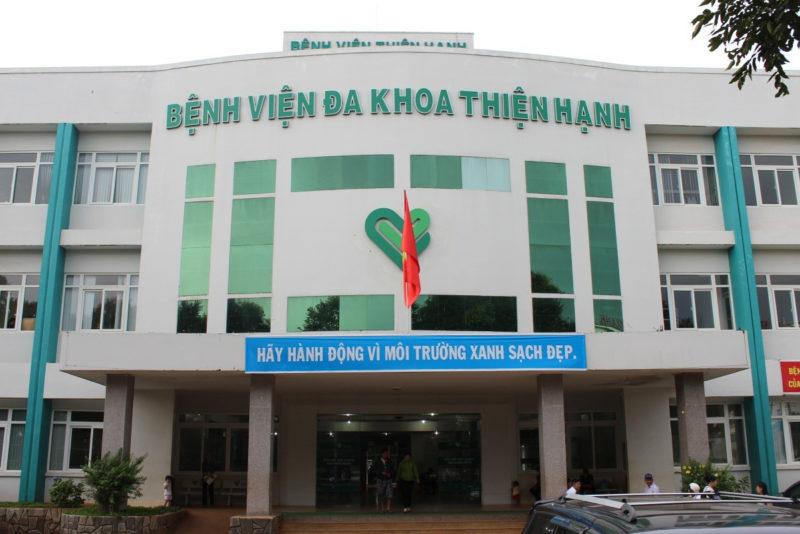 Bệnh viện Đa khoa Thiện Hạnh - phòng khám nam khoa ở daklak