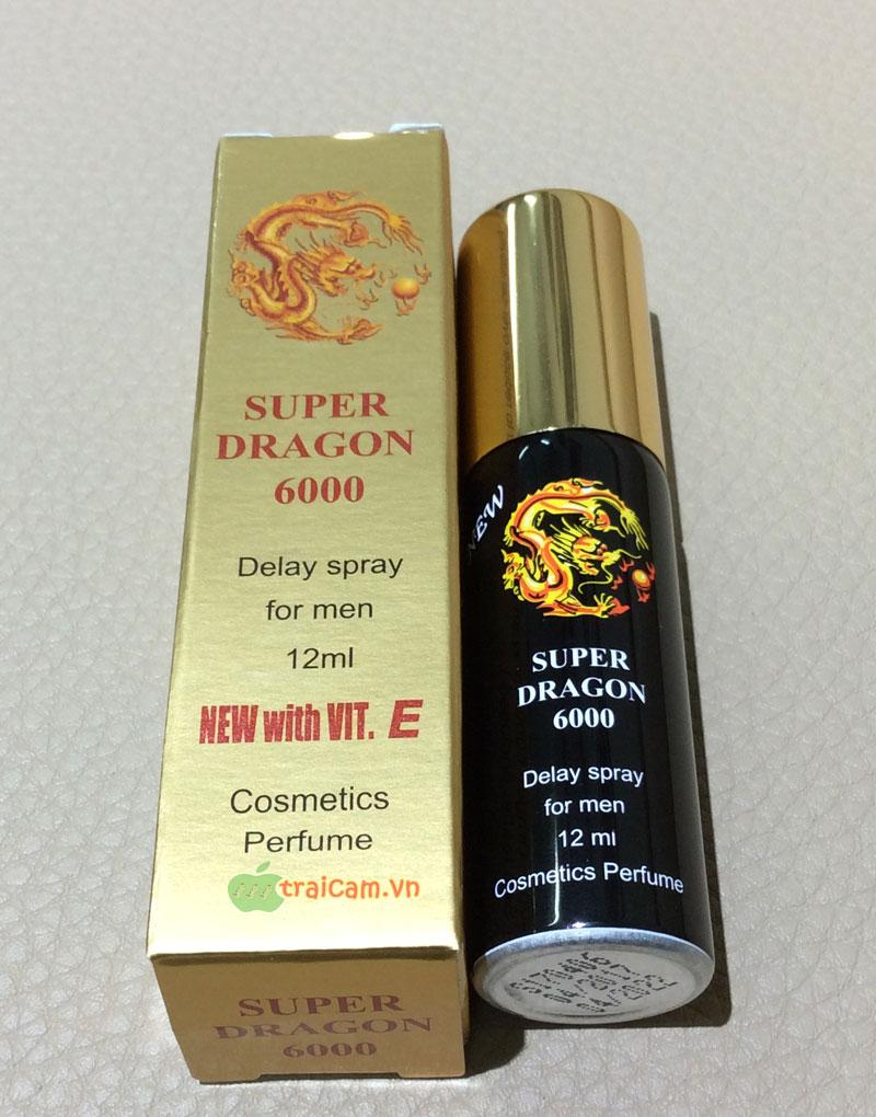thuốc xịt kéo dài thời gian quan hệ Super Dragon 6000