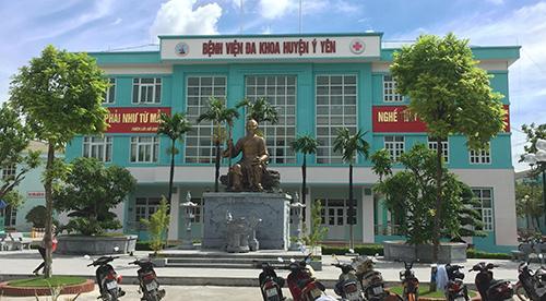 phòng khám nam khoa tại Nam Định - bệnh viện đa khoa huyện Ý Yên