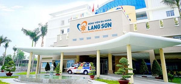 Bệnh viện Đa khoa tỉnh Lạng Sơn