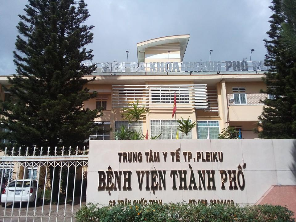 Bệnh viện Đa khoa Thành phố Pleiku