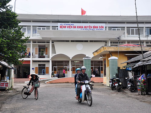 Bệnh viện Đa khoa huyện Bình Sơn