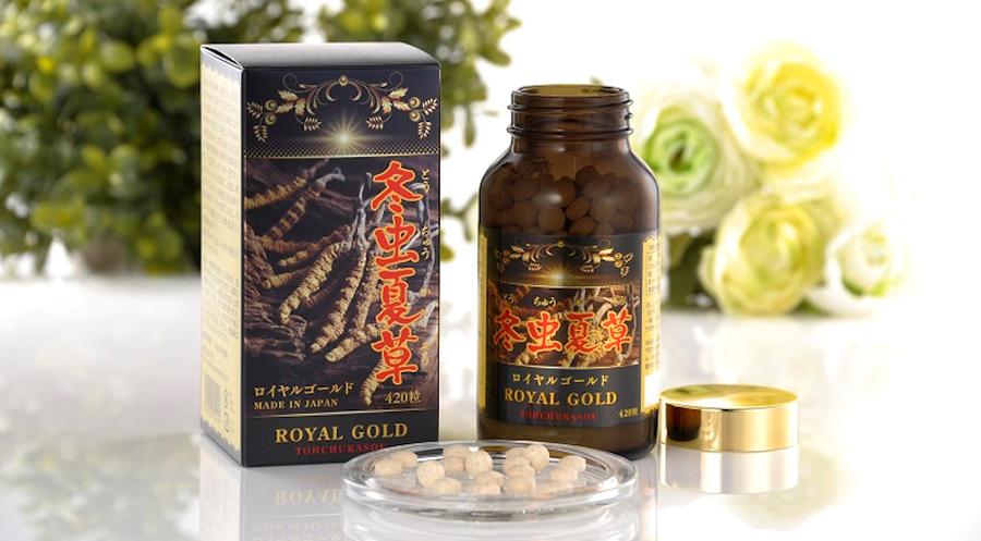 Đông trùng hạ thảo Nhật Bản Royal Gold có hiệu quả không