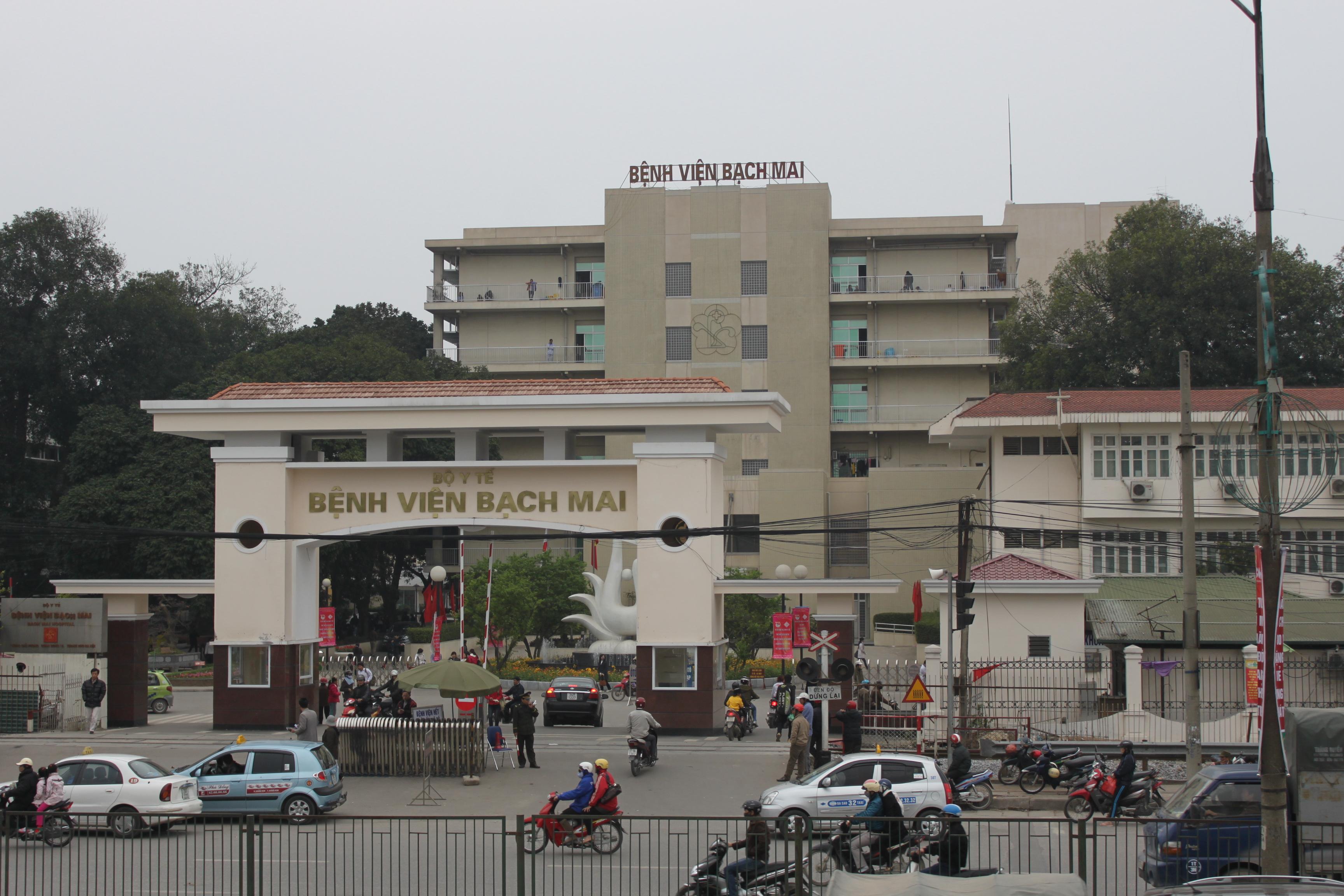 Bệnh viện Bạch Mai nằm ở đâu Hà Nội