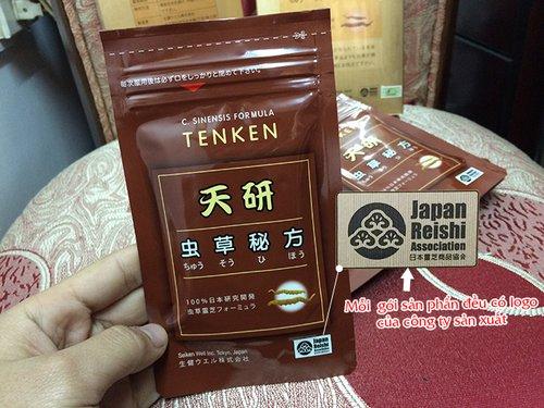 giá đông trùng hạ thảo Tenken của Nhật Bản