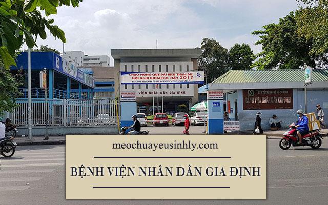 Bệnh viện Nhân Dân Gia Định thành phố Hồ Chí Minh