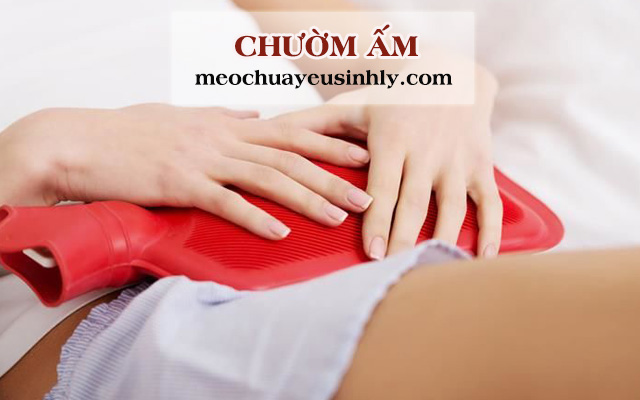 Điều trị chứng tiểu đêm nhiều lần do thận yếu bằng cách chườm ấm