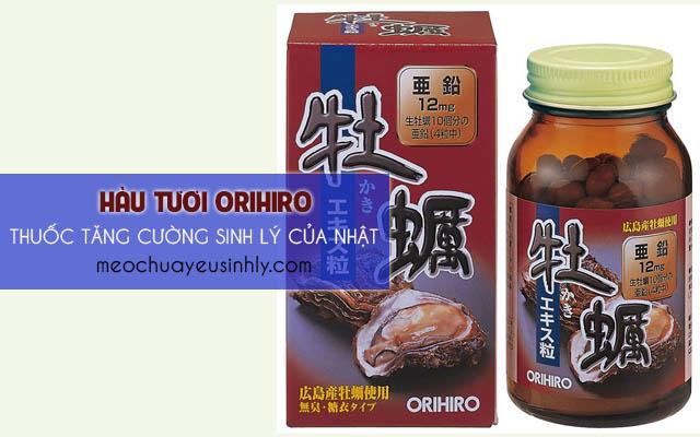 Hàu tươi Orihiro -thuốc tăng cường sinh lý của Nhật