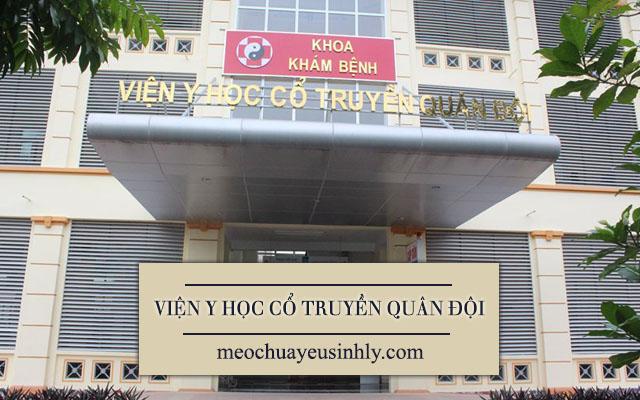 Khoa Nam học - Viện Y học Cổ truyền Quân đội