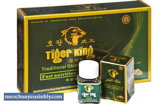Công dụng của sản phẩm Tiger King