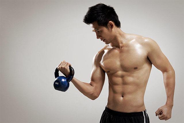 nam giới tập gym