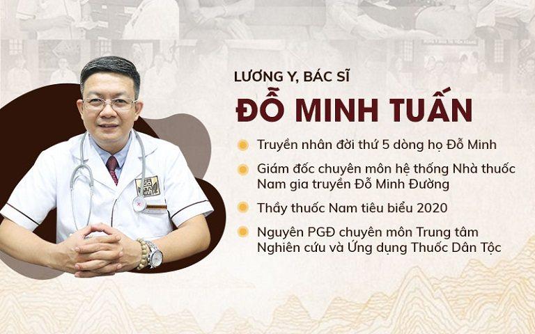 Lương y Đỗ Minh Tuấn - Chuyên gia nam khoa với hơn 15 năm kinh nghiệm