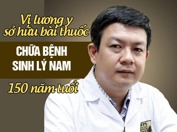 Lương y Đỗ Minh Tuấn chữa bệnh yếu sinh lý